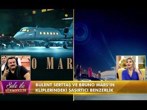 Şule ile Vitrindekiler - Bülent Serttaş ve Bruno Mars'ın klibindeki benzerlikler!