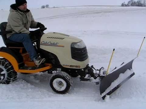 Johnny Bucket Jr Snowplow