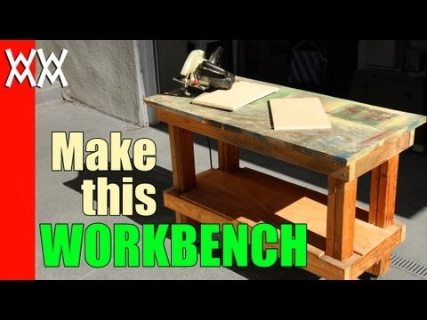 Build a cheap but sturdy workbench