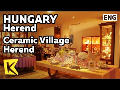 【K】Hungary Travel-Herend[헝가리 여행-헤렌드]도자기 마을 헤렌드/Ceramic Village/Gallery/Ceramic