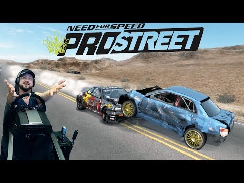 Заруба с 1000+ сильной обдолбаной Pagani Zonda F на хайвее в Неваде Need for Speed: ProStreet