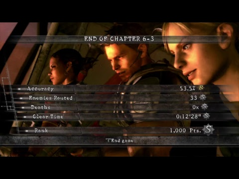 RE5 Noob parody! New game Amateur difficulty, RPG bosses, fully upgraded weapons etc!