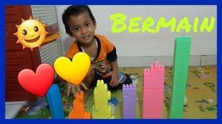Permainan Puzzel | Anak Bermain Puzzel | Mengenal Warna Indonesia | Bermain di Rumah