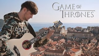 Game of Thrones Theme played on Guitar in King's Landing