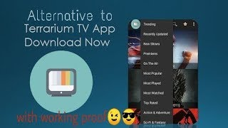 EASY ALTERNATIVE TO TERRARIUM TV top apps instead of terrarium to download and stream hindi english