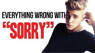 "download lagu Everything Wrong With Justin Bieber - ""sorry"" gratis"