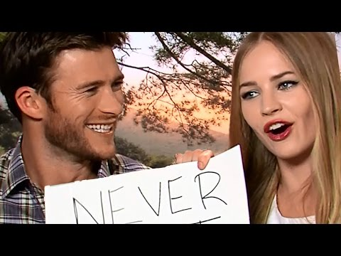 """The Longest Ride"" Cast Plays Never Have I Ever"