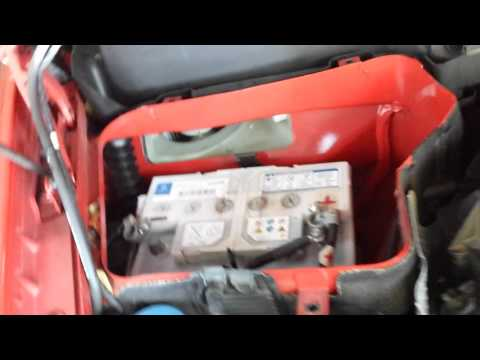 Battery Replacement 2007 Mercedes SLK 280