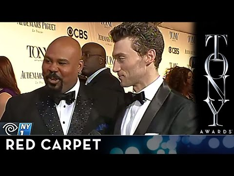 2014 Tony Awards - Red Carpet - James Monroe Iglehart and Bryce Pinkham