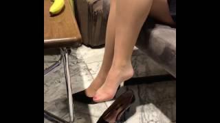 Mini eteğim ve ayakkabım