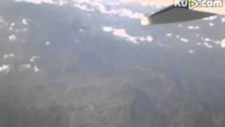 UFO filmed from airplane in China this month