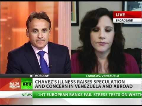 'US exploits Cuba chemo but Chavez's on top of things'