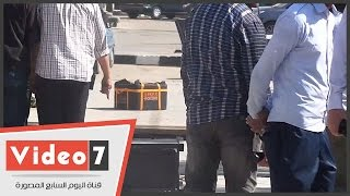 العثور على قنبلة هيكلية بساحة كلية التجارة بجامعة القاهرة