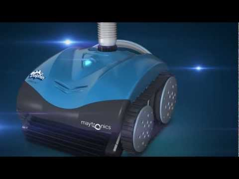 Dolphin Hybrid RS1 - robotic suction pool cleaner