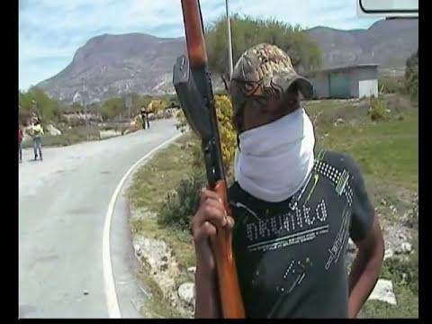 Aparece Grupo Armado en Ixmiquilpan