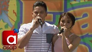"Kathryn and Daniel sing ""You and Me"""