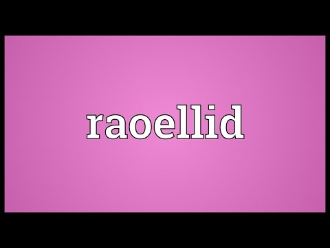 Header of raoellid
