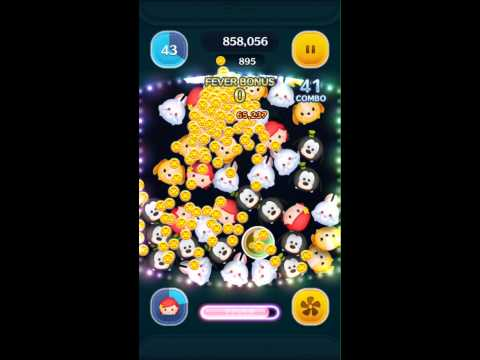Tsum Tsum - Level 6 Skill Ariel Game Play 3,164,611
