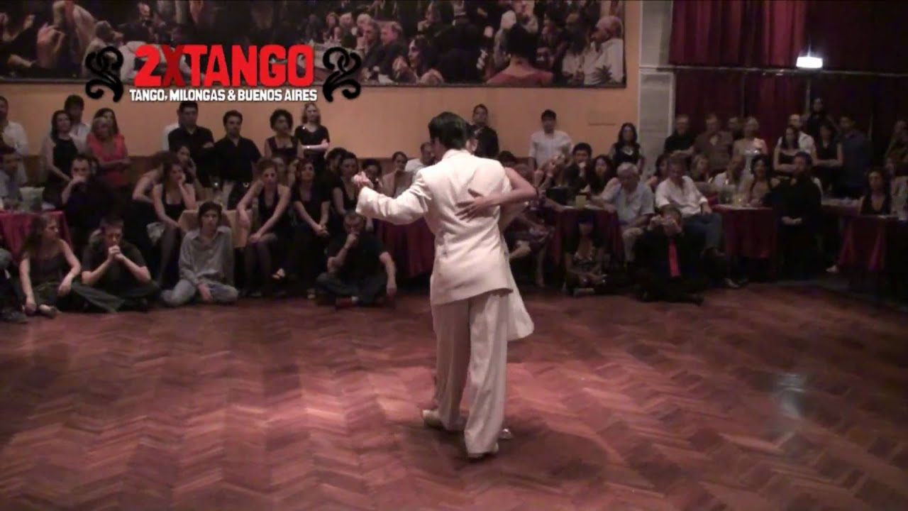 Sebastian achaval roxana suarez tango en salon canning nov 2009 youtube for A puro tango salon canning