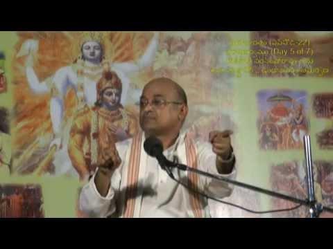 Day 5 of 7 Virataparvam by Sri Garikapati Narasimharao at Undrajavaram (Episode 22)