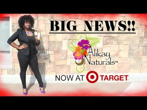 ► Big News!!! Alikay Naturals In Now In Target!! ◄ video