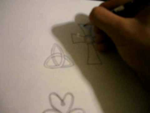 Saints Symbol Drawing How to Draw Celtic Symbols
