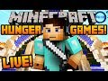 Minecraft HUNGER GAMES - LIVE w/ Ali-A! -
