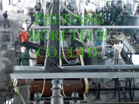 PET Bottle Recycling Washing Line-Complete Type with capacity 6000kg/h