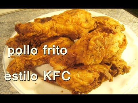 POLLO FRITO ESTILO KENTUCKY FRIED CHICKEN. KFC - recetas de cocina faciles rapidas y economicas