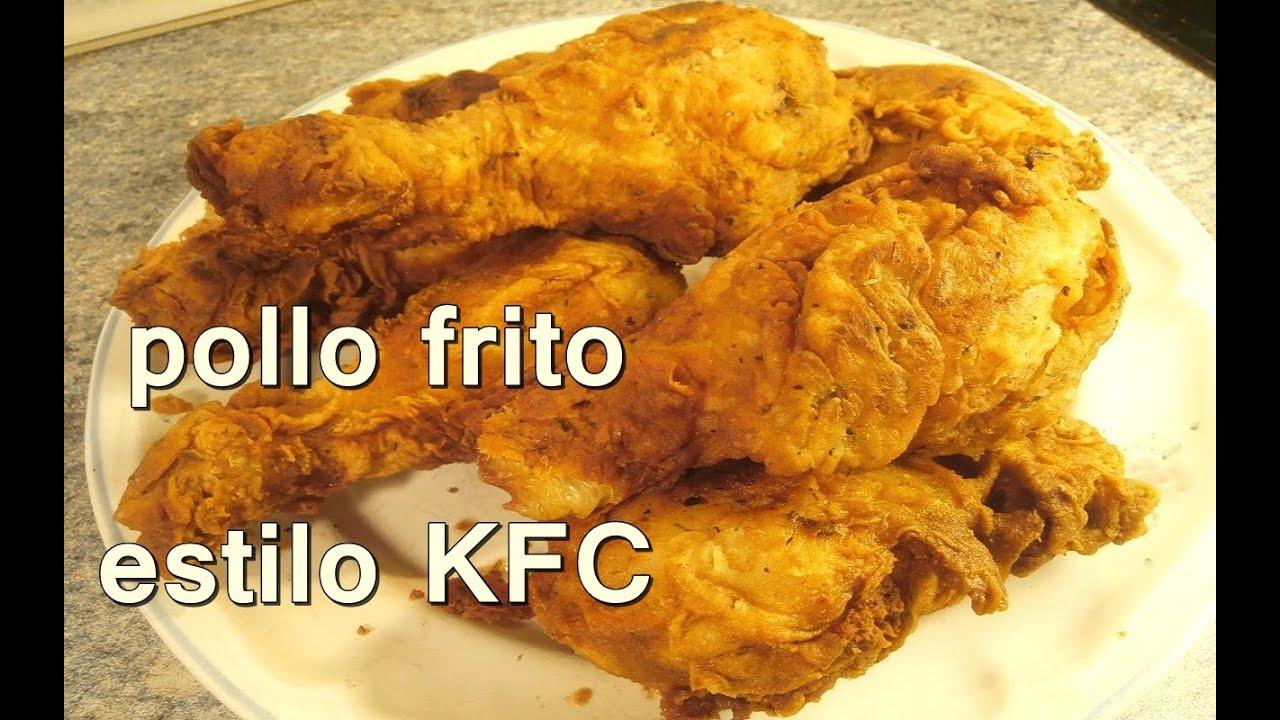 POLLO FRITO ESTILO KENTUCKY FRIED CHICKEN. KFC - Recetas ... Chicken