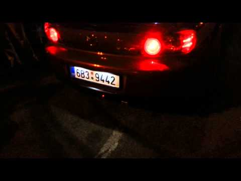Mazda RX-8   stock catless exhaust flames