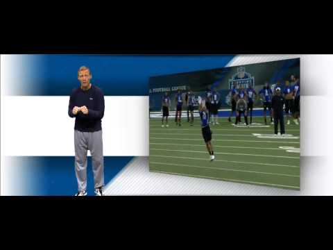 NFL Scouting Combine Defensive Backs Drills