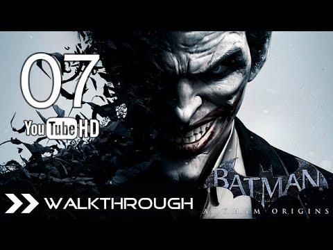 Batman Arkham Origins Walkthrough - Gameplay Part 7 (Aquire the Disruptor - Escape GCPD) HD 1080p PC PS3 Xbox 360 Wii U No Commentary