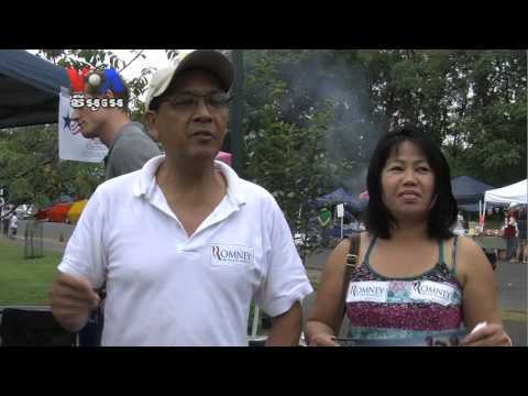Cambodian Community Day Sees Campaigners for Presidential Candidates