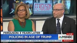 Karol Mason Talks Ferguson, Three Years Later on MSNBC Special Report