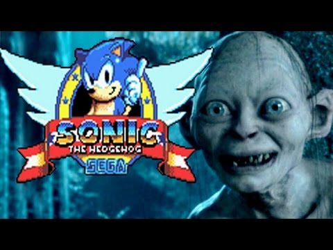 Gollum plays Sonic the Hedgehog