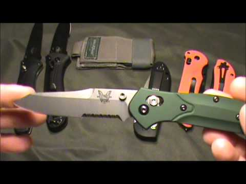 Benchmade Top 5   Price, Performace, & Value   One Guy's Opinion