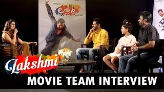 Lakshmi Movie Team Interview | Prabhu Deva, Baby Ditya Bhande