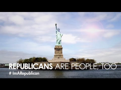 REPUBLICANS ARE PEOPLE TOO AD RANT