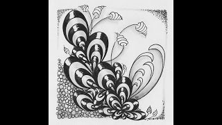 Weekly Zentangle® Tangle Video - BUNZO January, 2016