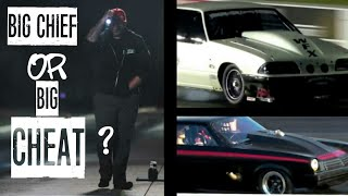 BIG CHIEF CHEATING with the light? Chuck and Shane fight broken down! MUST WATCH!