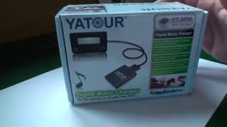 Yatour Digital Music Changer UNPACK (content) for Audi A3 NEW!!! HD