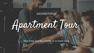 Family of Four Living Small  | Apartment Tour | Washington DC
