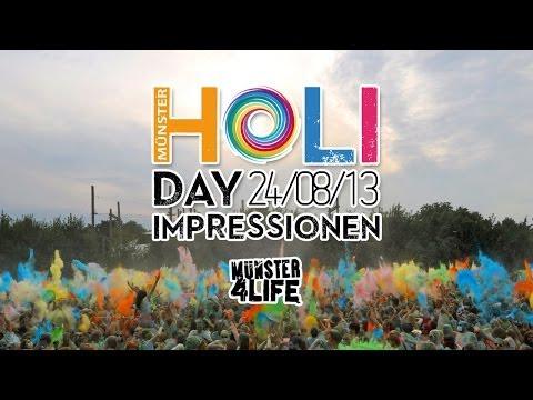 Münster HOLIday 24.08.2013 - Holi Festival - Hochseilgarten Kletterhalle High Hill