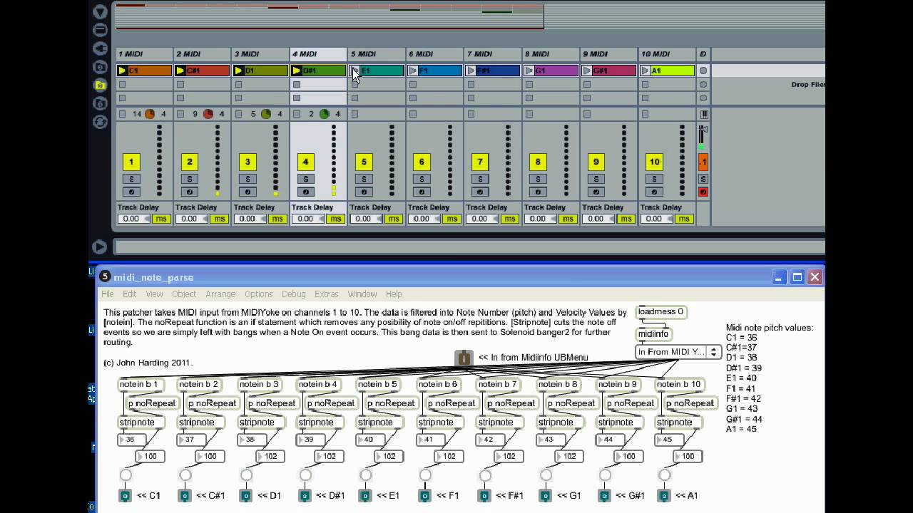Max to Ableton, midi learn, how ? - MaxMSP Forum | Cycling '74