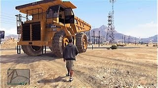 "GTA 5 Secret Cars - ""Tonka Truck"" (GTA V)"