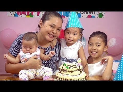 Kejutan Ulang Tahun Balita Lucu Shanti Ke 3 - Kids Birthday Surprise