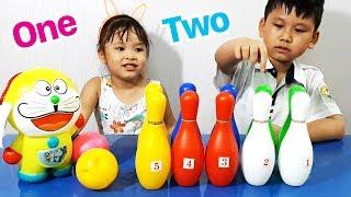 BÉ SỮA HỌC ĐẾM SỐ TIẾNG ANH CÙNG BÉ MINH ♥ KIDS LEARNING NUMBERS ♥