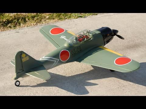 $99 Nitroplanes GuanLi Japanese Zero. Review.