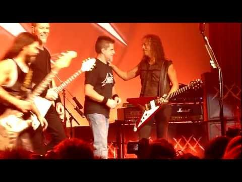 Metallica w/ Mustaine, Grant and McGovney - Hit the Lights (Live in Frisco, Dec. 10th, 2011)